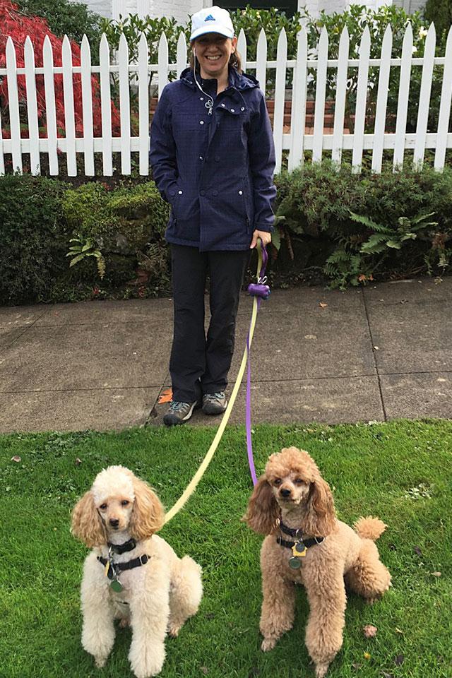 TC Pet Sitting - Amber walking dogs